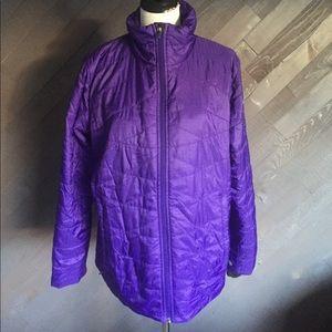 Columbia Omni-Heat Purple Coat 💜💜💜